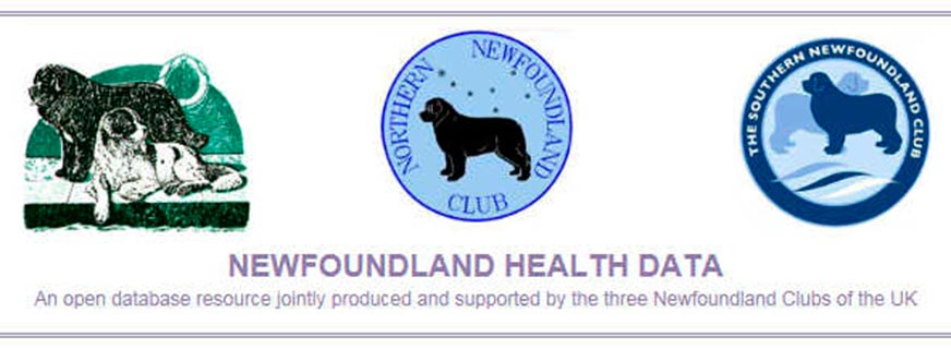 Joint Newfoundland Clubs' Health Database web page heading
